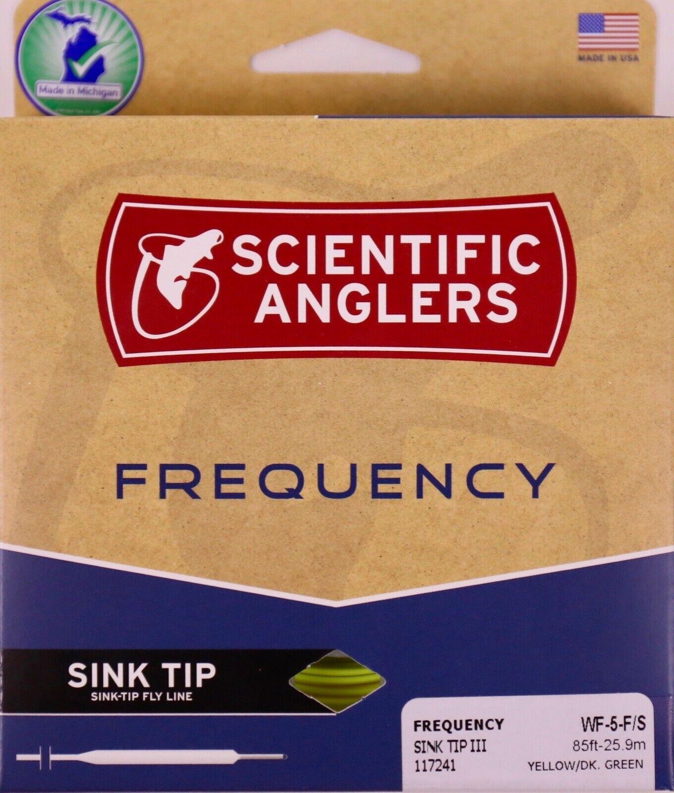 Scientific Anglers Disipador de Línea Mosca De  Punta de frecuencia WF5F S Envío Gratis Rápido 117241  tomamos a los clientes como nuestro dios