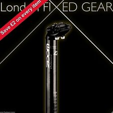London FIXED GEAR 27.2 x 350 mm Seat-Post double-bolt black Zoom Professional