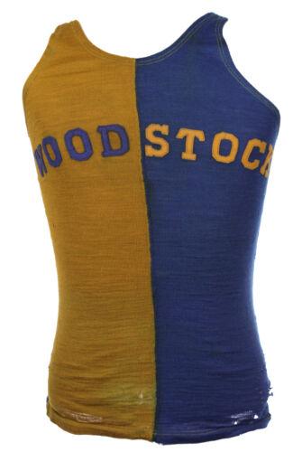 1922-25 Woodstock #6 Goldsmith Basketball Jersey & Satin Shorts (MEARS LOA)