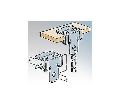 Suitable for round conduit or cable 25 Pack Britclips CR410 Cable run clip