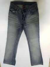 Divided by H&M Jeans Hose Schlaghose Hellblau Stonewashed W30 L34
