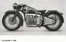 Condor - Motorrad-Programm -  Prospekt  - 1947 - Deutsch -  nl-Versandhandel