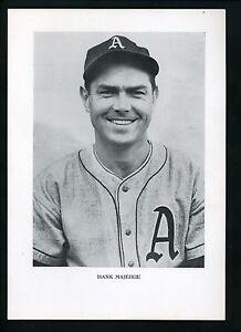 Hank Majeski circa 1950's Premium Press Photo Philadelphia A's