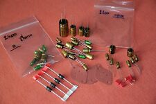 Amplifier Akai Am-2400 Kit rebuild Nichicon / recapage / ampli AM-2600 capacitor