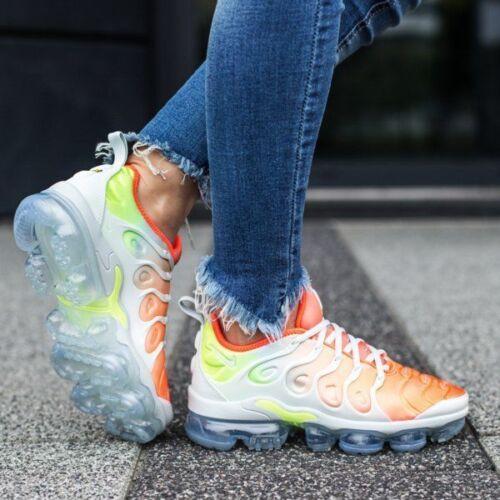 Womens Uk Air Multi Plus Trainers 5 Vapormax Nike reverse Sunset Girls Tn 2 dOxa8Yqqw