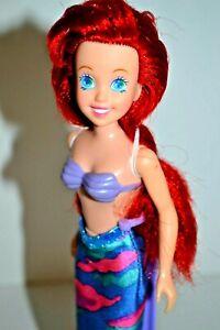 Disney-Petite-Sirene-Ariel-Original-Film-Poupee-Rare-1990-039-s-Cadeau-Enveloppe