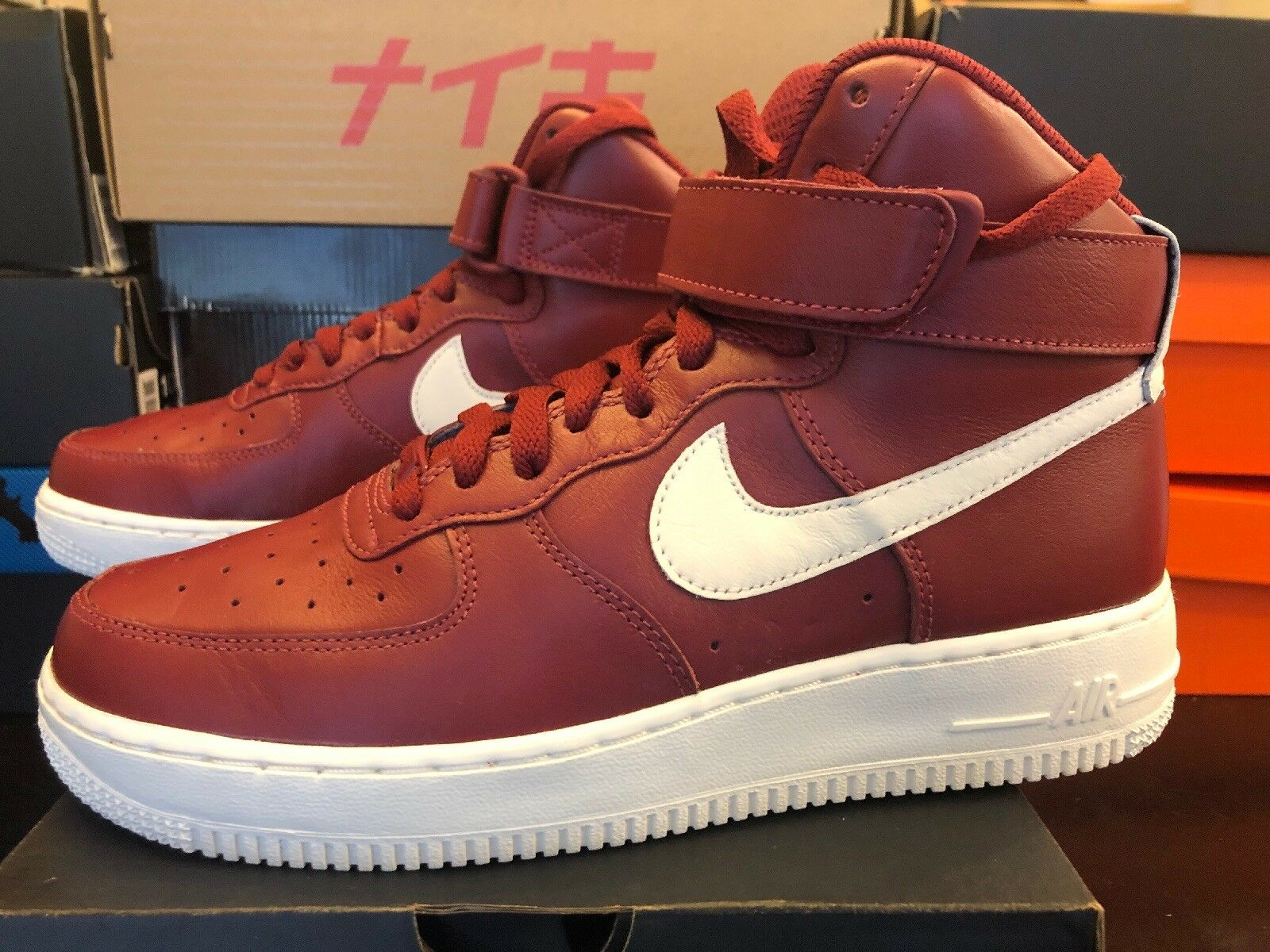NIKE AIR FORCE ONE HI ID WMNS SIZE 8 808795-981 Men's 6.5