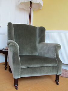 Armchairs Antique Victorian  Pair of Lady and Gentleman Chairs  REDUCED - <span itemprop='availableAtOrFrom'>Plymouth, United Kingdom</span> - Armchairs Antique Victorian  Pair of Lady and Gentleman Chairs  REDUCED - Plymouth, United Kingdom