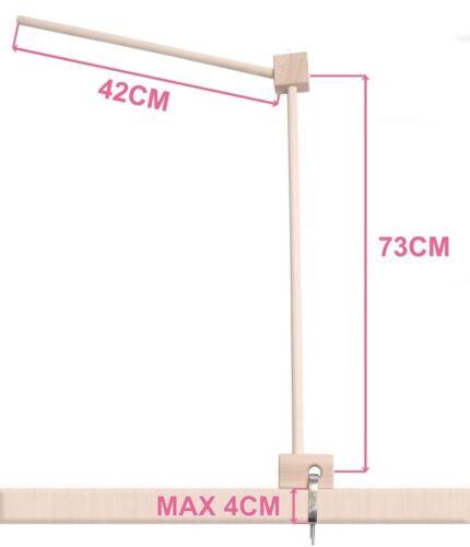 Best For Kids Universal Mobilehalter 40x72x6 cm zum Klemmen und Aufhängen