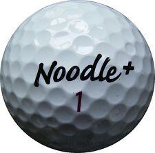 100 Noodle+ Plus Mix Golfbälle im Netzbeutel AA/AAAA Lakeballs TaylorMade Bälle