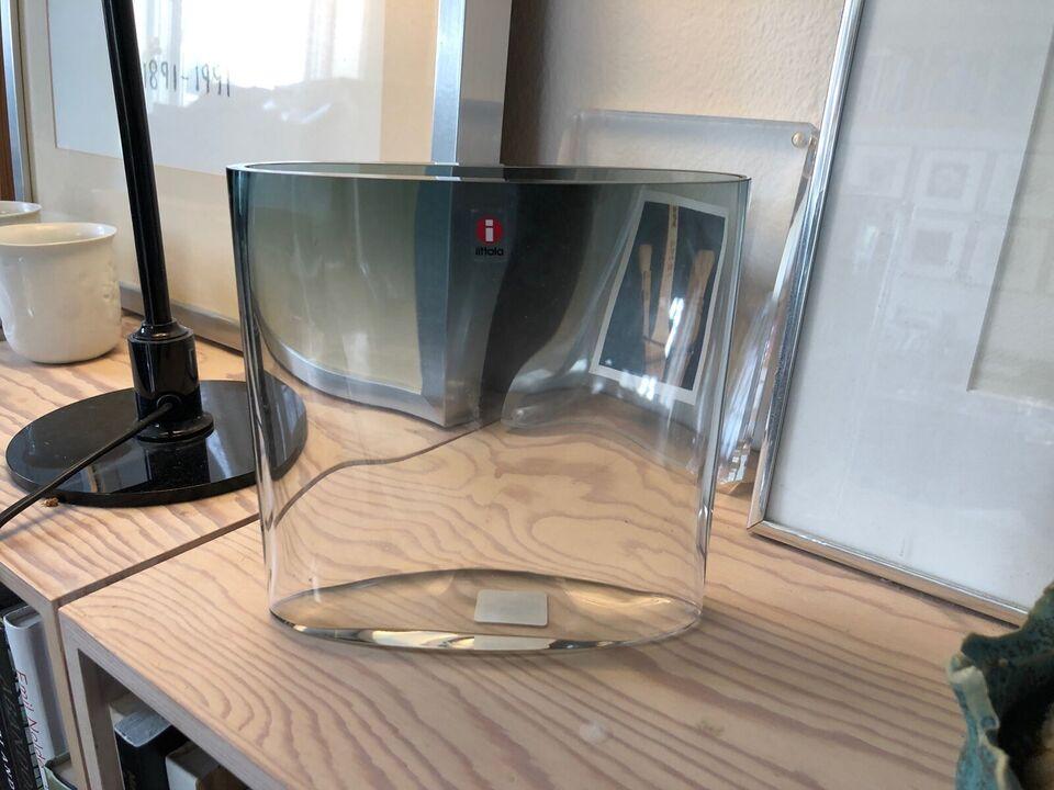 Glas, Vase, Ovalis,Tapio Wikkala