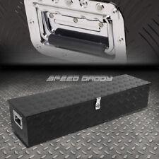 39x13x10 Black Aluminum Pickup Truck Trunk Bed Tool Box Trailer Storagelock