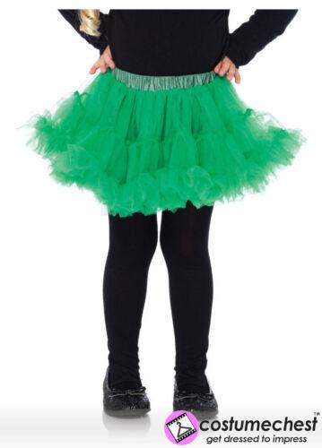 9-12 ans Vert Girls jupon jupon par Leg Avenue