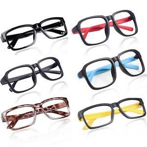 Eyeglass Frames No Lenses : Fashion Unisex Hipster No lens Glasses Frame Decorative ...