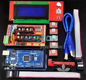 3D-printer-kit-RAMPS-1-4-Mega-2560-5pcs-A4988-LCD-2004-RepRap-Prusa-i3-HSG