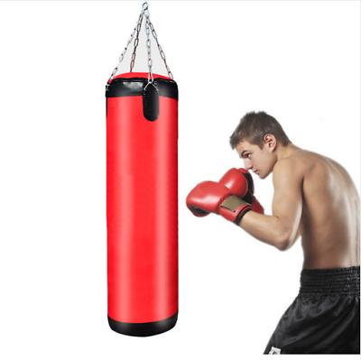 Junior 60cm Punching Bag Boxing Gear Martial Arts Training Gym Sport Fitness Pro
