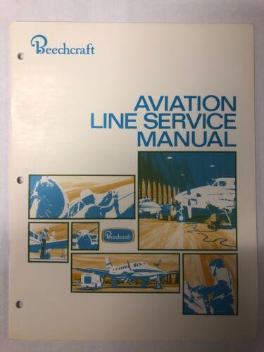 Beechcraft Aviation Line Service Manual Manuals & Literature ...
