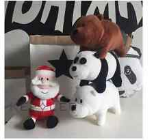 We Bare Bears gift Custom NEW tv show Plush Toy Doll 3pcs 9.5inches