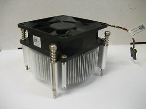 "Dell 9XJXY Optiplex 990 790 7010 CPU Heatsink  Fan Assembly DW014 0D0WH1 ""QUIET"""