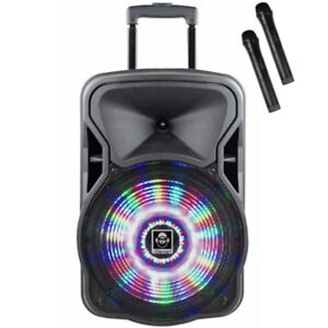 iDance-Groove-420-500W-Speaker-Loud-Speaker-Party-System-with-Microphones