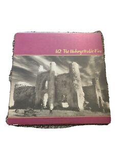 U2-The-Unforgettable-Fire-Vinyl-Record-Lp-Island-90231-1-Sterling-Press-VG