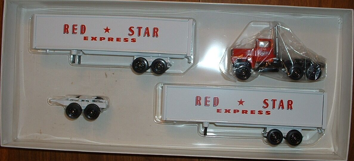rouge Star Express NYS doubles'94 WINROSS Camion
