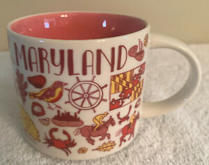 STARBUCKS MUG MARYLAND - BEEN THERE SERIES ACROSS THE GLOBE COLLECTION