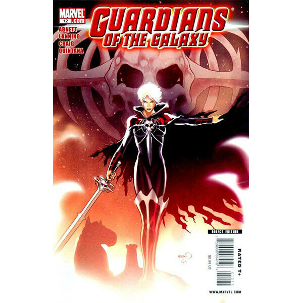 Guardians Of The Galaxy #12 2008 Series 2 Marvel Comics