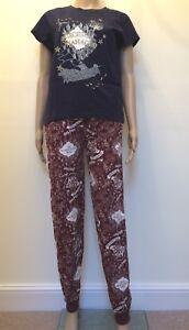 1cb9442b644e Harry Potter Marauders Map Women s Top   Bottoms Pyjama Sets Primark ...