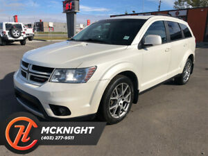 2012 Dodge Journey Leather/Sunroof Back up cam/Power Seats/Bluetooth
