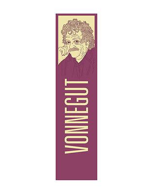 Kurt Vonnegut Bookmark! slaughterhouse five, cats cradle, anti-war, mother night