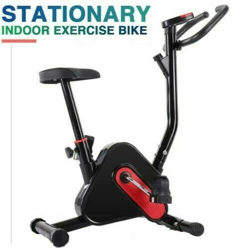 Details about  /Exercise Bike Fitness Gym Indoor Cycling Stationary Bicycle Cardio Workout w//LCD