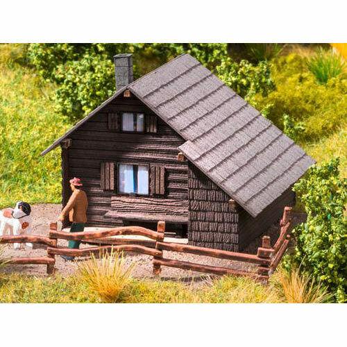 NOCH Mountain Shelter Laser Cut Minis Kit HO Gauge Scenics 14339