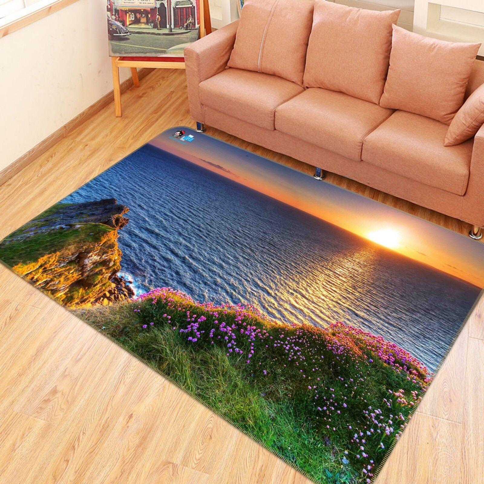 3D Sunlight Lake 889 Non Slip Rug Mat Room Mat Quality Elegant Photo Carpet US