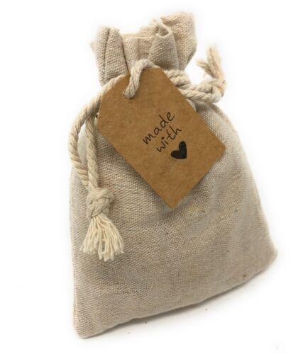 Zirbenkissen Duft im Schrank Säckchen Leinen gefüllt mit Spänen aus Zirbenholz