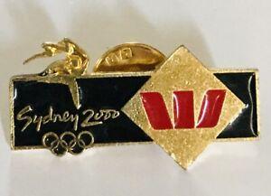 Westpac-Sponsor-Sydney-2000-Olympic-Games-Pin-Badge-Rare-Vintage-A10