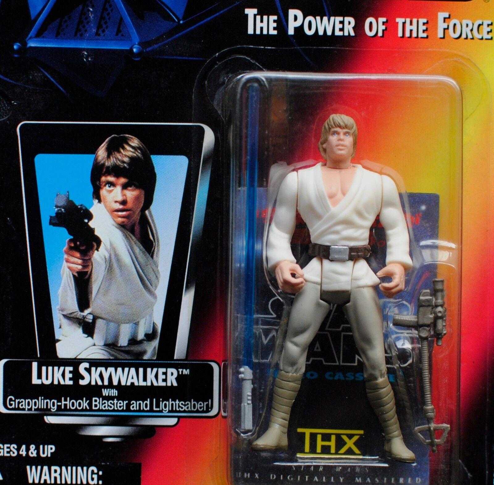 el mas reciente Estrella Estrella Estrella wars poder de la fuerza 2 de Luke Skywalker THX Pegatina de Japón largo sable figura menta en tarjeta Cochedado  clásico atemporal