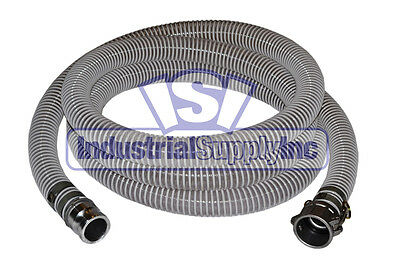 """FS 1-1//2/"""" EPDM Mud Suction Hose Camlock Kit w//100/' Red Discharge Hose"""