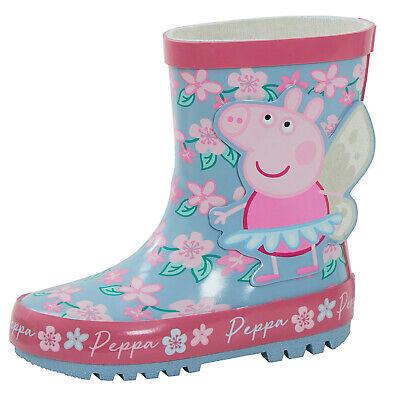 Peppa Pig Mädchen 3d Gummi Gummistiefel Kinder Glitzer ...