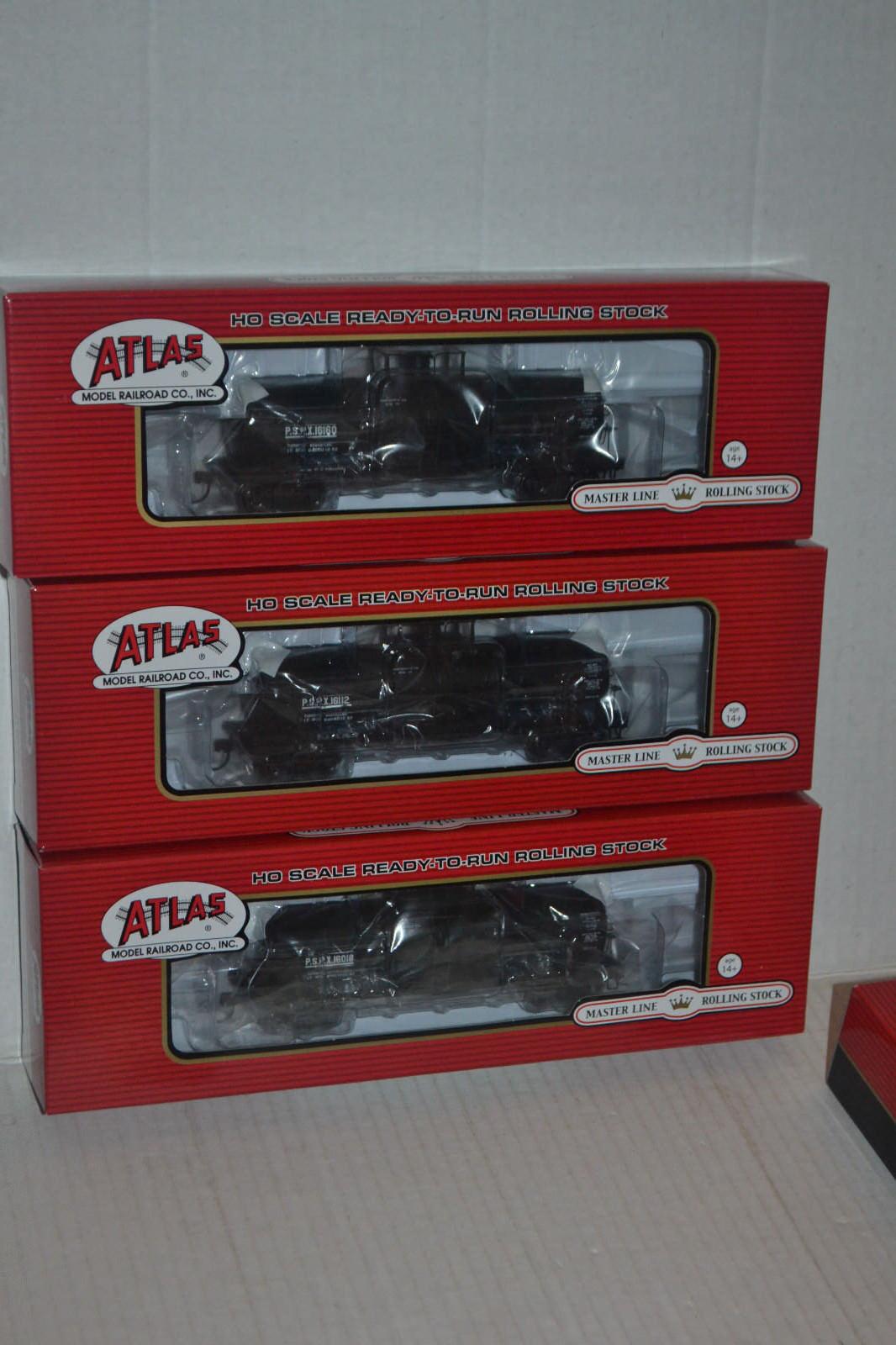 3 Atlas PSPX 11,000 galones tanque coches Escala Ho 20002650, 2651, 2652
