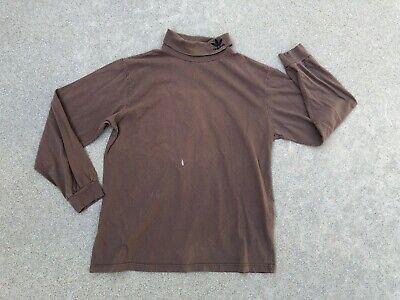 Adidas Originali Uomo Vintage Anni 90 Piegato Ricamato Dolcevita Camicia|grande