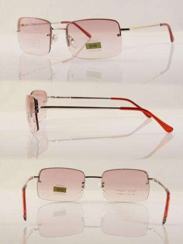 FBL Minimalist Medium Rectangle Sunglasses Clear Eyewear Spring Hinge A173 A174