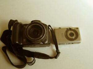 Canon-PowerShot-S3-IS-6-0-MP-12x-Zoom-Camera-amp-IXUS-50-FOR-PARTS-As-Is