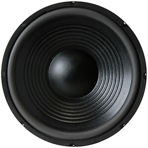NEW-12-034-Woofer-Speaker-Bass-Driver-Home-Audio-8-ohm-replacement-subwoofer-twelve
