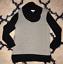 CALVIN-KLEIN-BLACK-WHITE-TURTLENECK-SWEATER-SZ-MEDIUM thumbnail 1