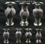 miniature 1 - Flower Vase Flower Pot Basket Crushed Diamond Mirror Effect Xmas Christmas Gift