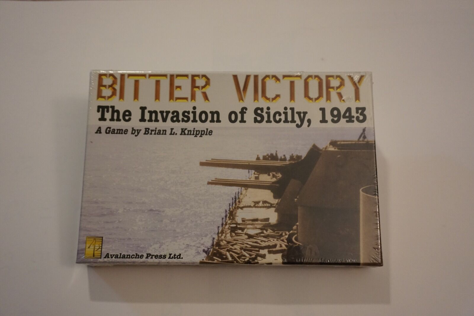 Bitter Victory  The Invasion of Sicily, Sicily, Sicily, 1943 by Avalanche Press 6510da