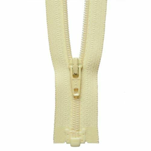 802 Daffodil jaune YKK Nylon Léger Bout Ouvert Zip