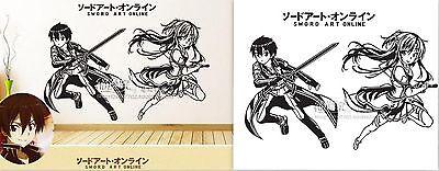 Sword Art Online Kirito Anime Wandtattoo Wandaufkleber Wandsticker Wanddekos