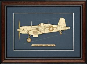 Chance-Vought-Corsair-F4U-1D-Wood-Art